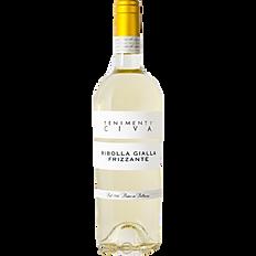 Vino bianco frizzante Ribolla gialla