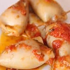 Calamaretti ripieni in guazzetto