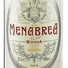 Birra Menabrea bionda 0,66