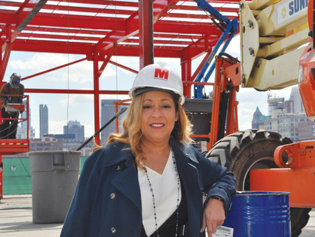 WOMAN OVER HER FAMILY'S 114-YEAR-OLD CONSTRUCTION COMPANY AND TURNED IT INTO A $50 MILLION POWERH