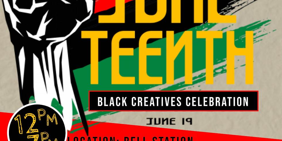Juneteenth Black Creatives Celebration