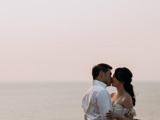 Edwin + Shu | Hallett Cove | Engagement Session