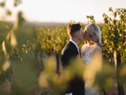 Sarah + Jarryd | Saltram Wine Estate,  South Australia