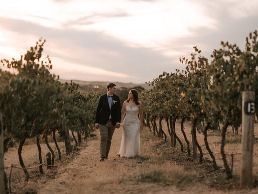 Hamish + Sally | Saltram Wine Estate | Wedding