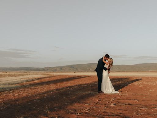 Lachlan + Briony | Port Germein, South Australia | Wedding