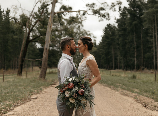 Sam + Sabrina | Burbrook Forest, South Australia | Wedding
