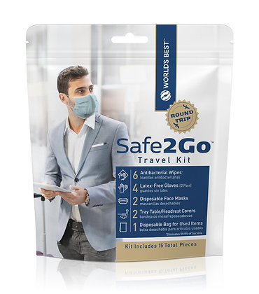 Safe2Go™ Travel Kit Airport Edition