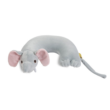Elephant Critter Piller™ Kids Neck Pillow