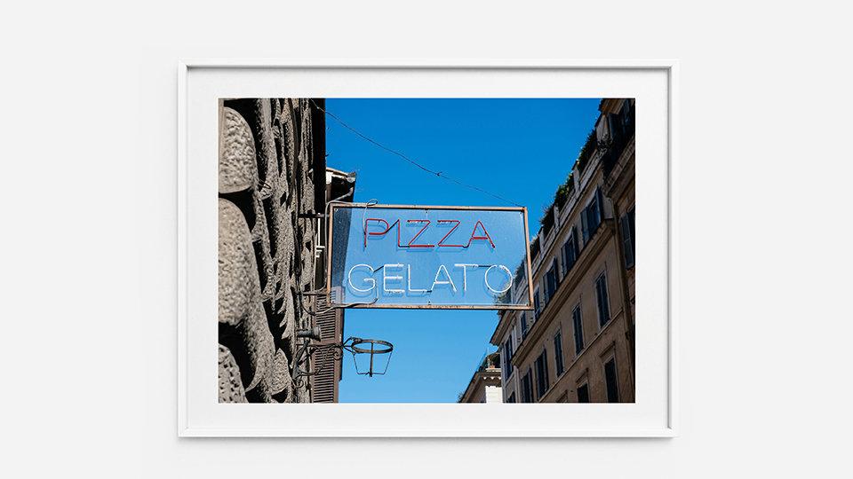 Pizza Gelato