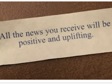 What if . . . (a fortune cookie's promise)