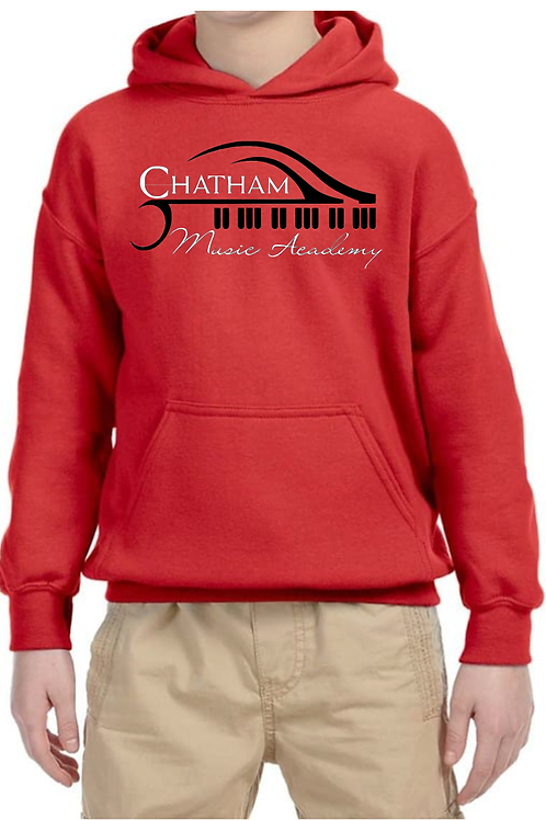 Youth Hoodie (Red)