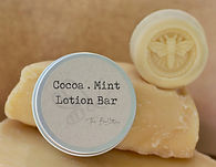 Lotion Bar - Cocoa Mint natural beeswax.