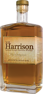 W.H. Harrison The Original Indiana Bourbon