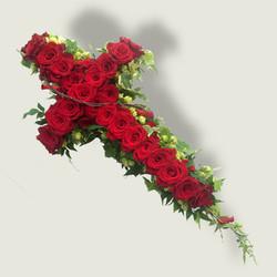 Red rose cross 1
