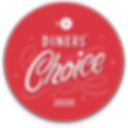 OpenTable Dines' Choice Badge for 2020