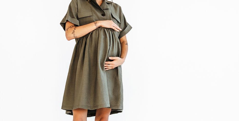 Платье карго для беременных