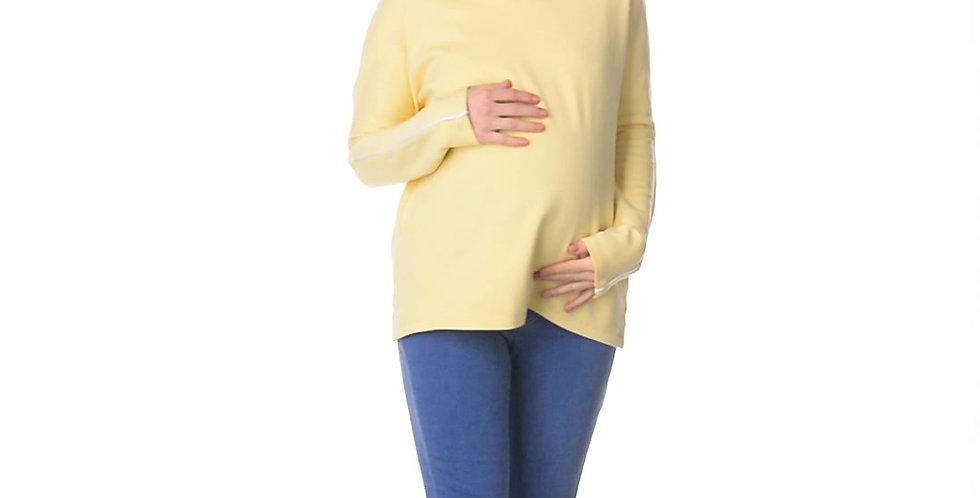 Джемпер нежно-желтый