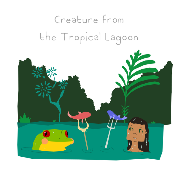 Creature from the Tropical Lagoon.