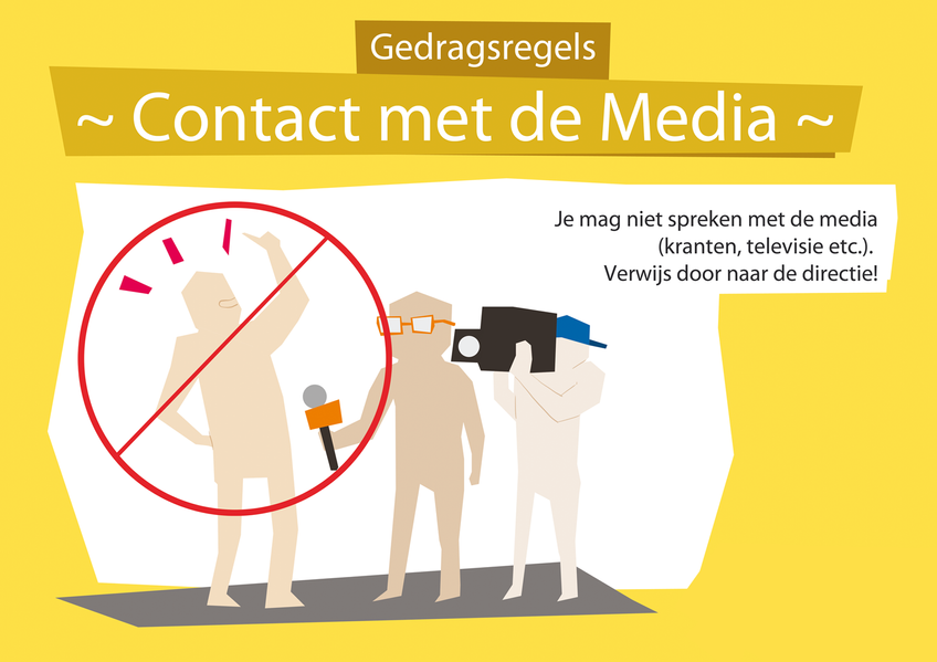 Rules of Conduct: Contact with the Media