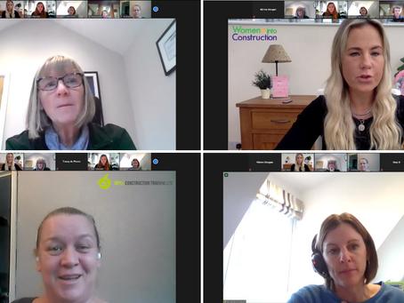 Women into Construction, Apple Construction, EKFB & CarmichaelUK host live Q&A!