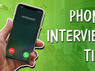 Top Tips: How to ace your next phone interview
