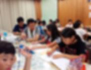 2018CS隊キャンプ食後の学習-4.JPG