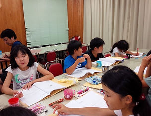 2018CS隊キャンプ食後の学習-2.JPG