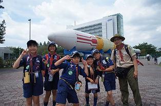CS隊キャンプロケット.JPG