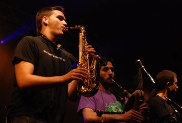 Leña Verde en concerto