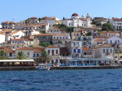 Koroni from the harbour
