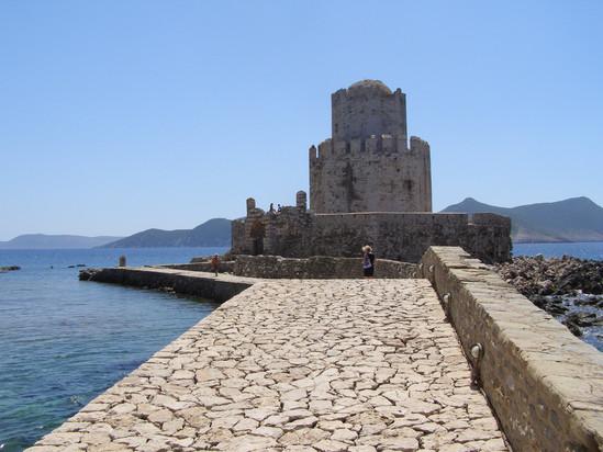 Methoni Castle 50 mins
