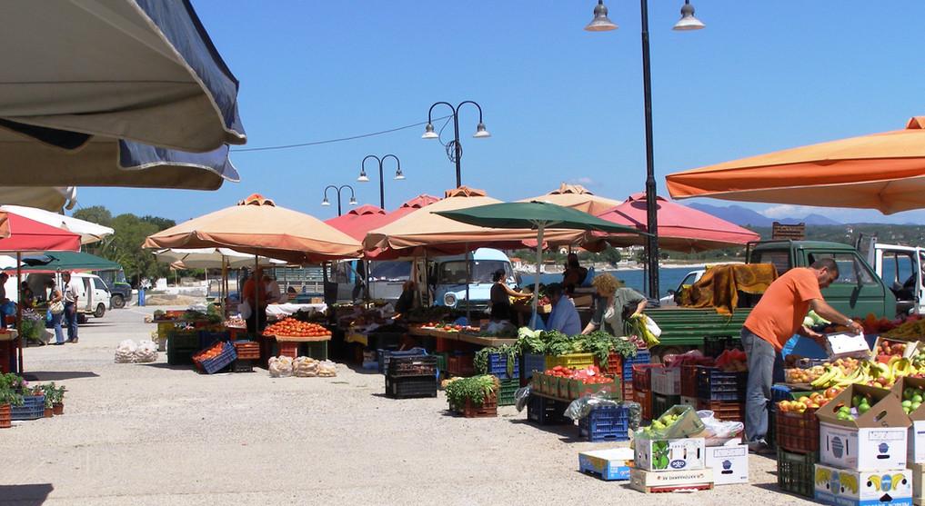 Market day Petalidi