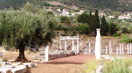 Ancient Messini 50 minutes
