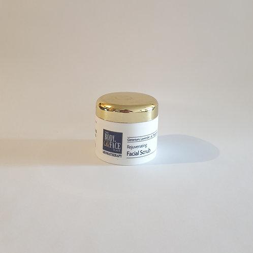 Geranium, Lavender & Peppermint Facial Scrub