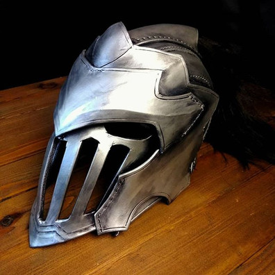 Finished goblin Slayer inspired leather