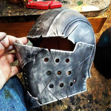Orc helm.__Just like a regular helm but