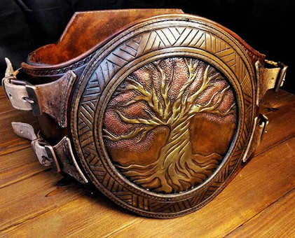 Tree of life war belt.__#armor #belt #le