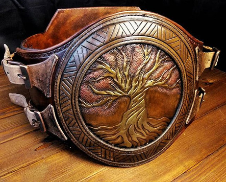 Tree of life war belt.__#armor #belt #le