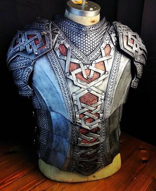 Mountain dwarf armor.__#armor #leather #