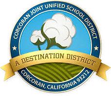 Corcoran Unified School District Logo.jp