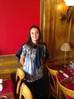 Maëlle Garbino de l'Olympique lyonnais à l'étage...