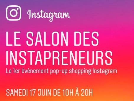 Le salon des Instapreneurs : 1er Salon Mondial organisé par Instagram