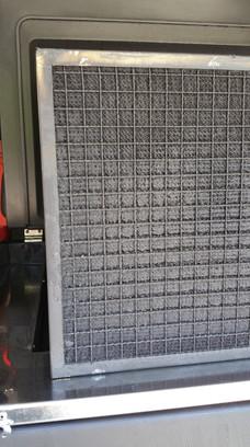 Entretien épurateurs électrostatiques brouillard d'huile grille avant