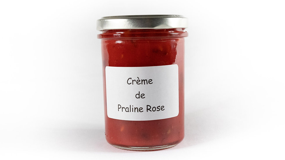 Crème de praline rose