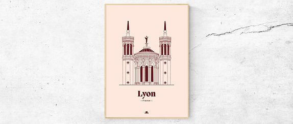illustration-fourviere-lyon-LICONIQUE-mi