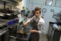 Chef cuisinier Guillaume Mallet
