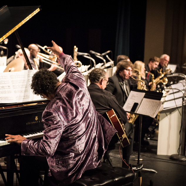 The Bentley playing his music with a big band!