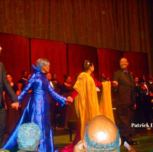 Curtain call at the MET OPERA