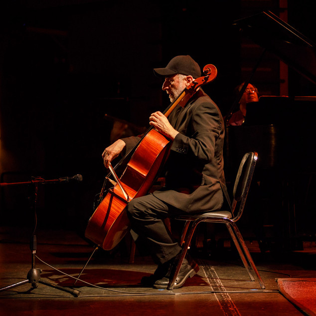 The Bentley performing live with cellist Eugene Friesen