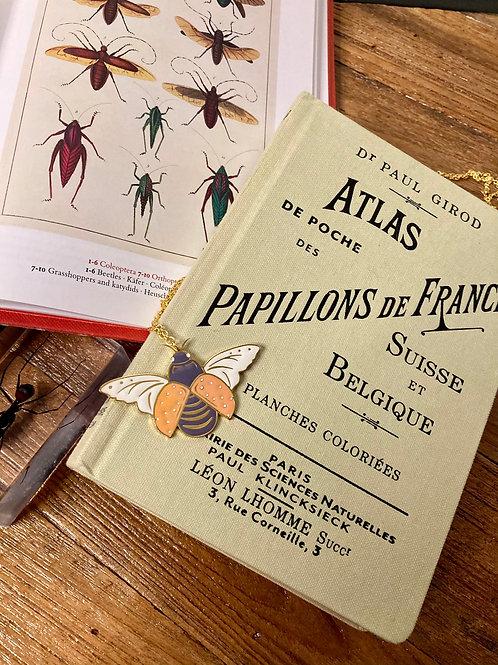 """Sautoir insecte """"papillon"""""""
